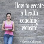 How to create a health coach website