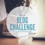 TakeTheBlogChallenge