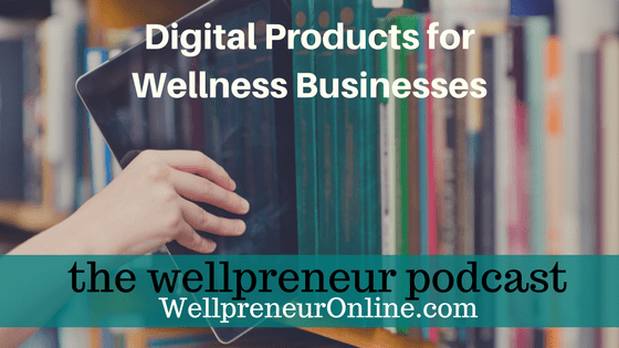Digital Products for Wellness Businesses FB