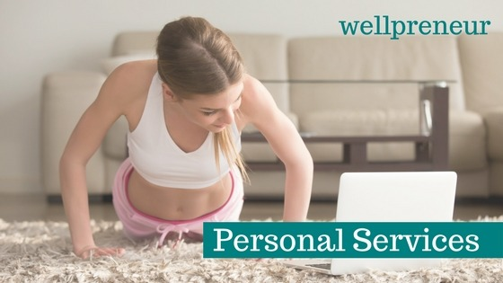 health and wellness business idea personal services
