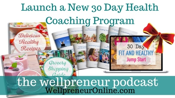 Wellpreneur: Launch a New 30 Day Health Coaching Program