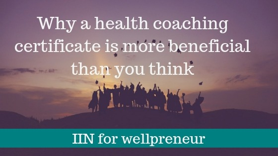 Benefits to getting a health coach certification