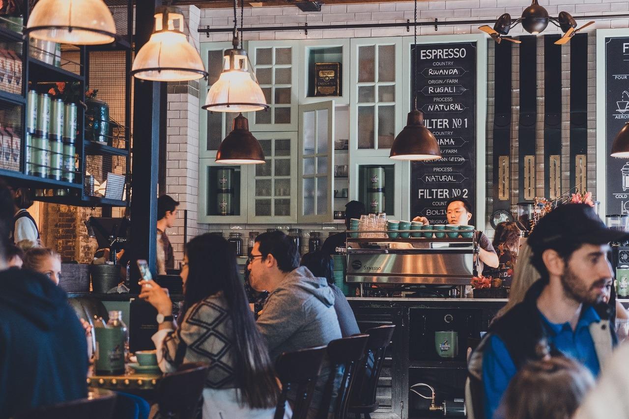coffee shop image