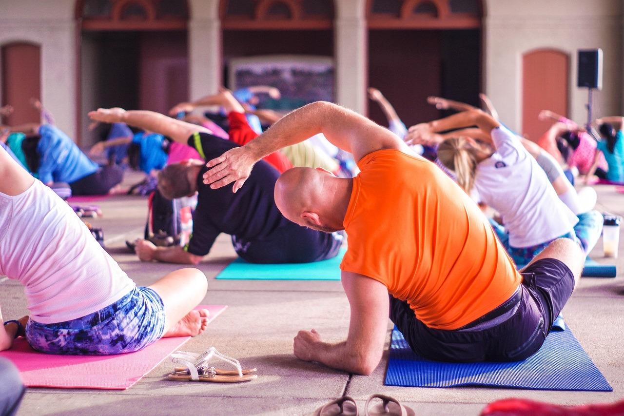 yoga exercise image